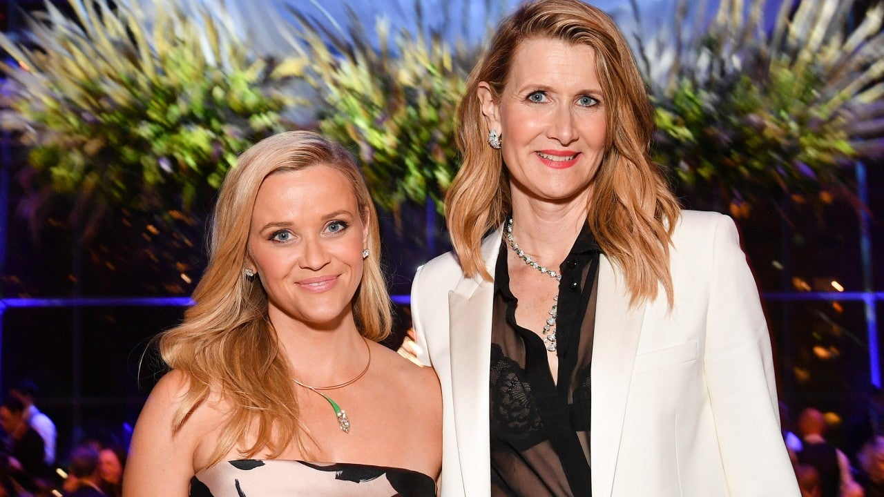 Reese Witherspoon and Laura Dern Practice Social Distancing While on a Hike -- Pics