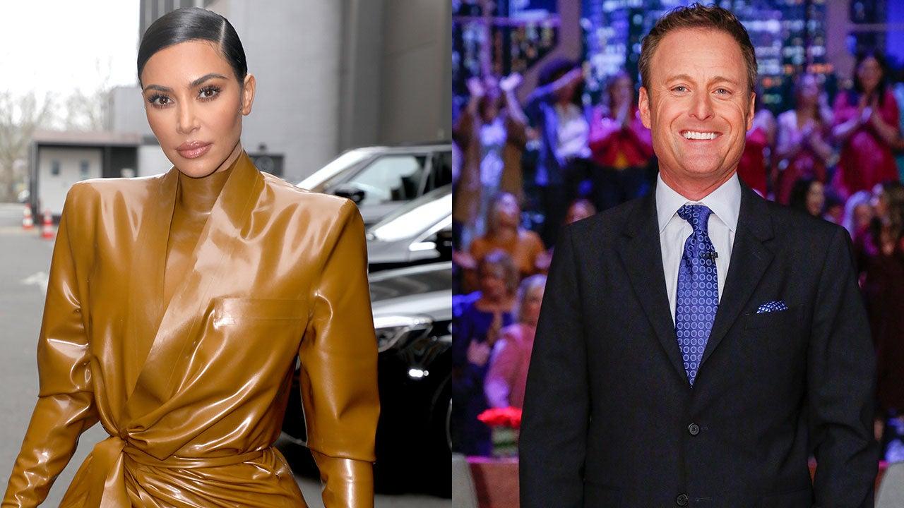 Kim Kardashian FaceTimes Chris Harrison After Wild 'Bachelor' Finale