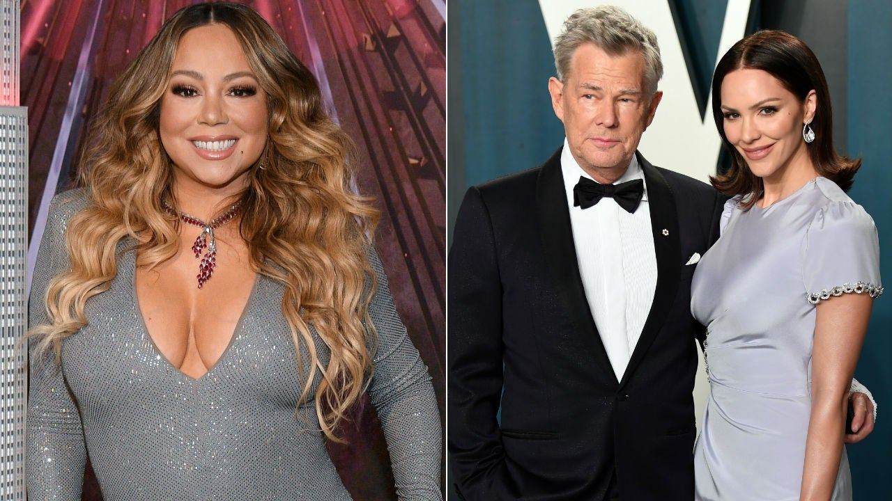 Mariah Carey Praises Katharine Mcphee And David Foster S Cover Of Hero Dedicated To Healthcare Workers Entertainment Tonight