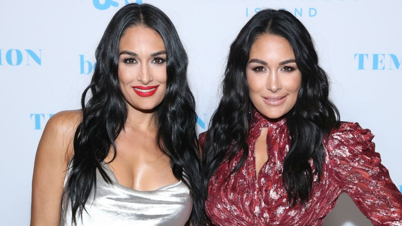 Nikki & Brie Bella Throw Joint Party for Their Sons' First Birthdays