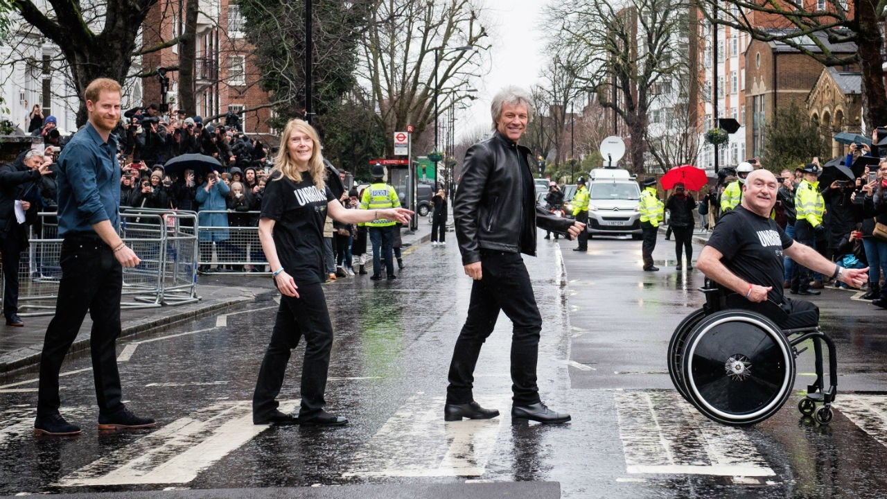 Prince Harry, Jon Bon Jovi and the Invictus Games Choir Drop Charity Single 'Unbroken'