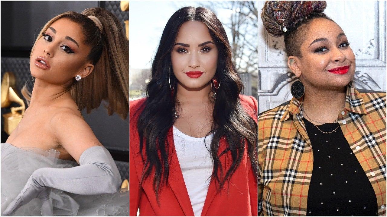 Ariana Grande, Demi Lovato, Raven-Symoné & More Join Lineup for 'The Disney Family Singalong' 1280_ariana_demi_raven