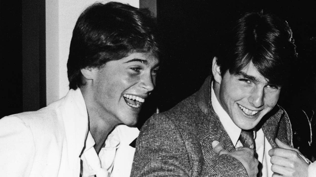Rob Lowe Says Tom Cruise Went Ballistic Over Sharing A Room With Him While Auditioning For The Outsiders Entertainment Tonight