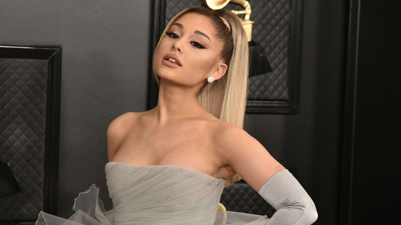 Ariana Grande Shows Off Even More Natural Curls in Quarantine