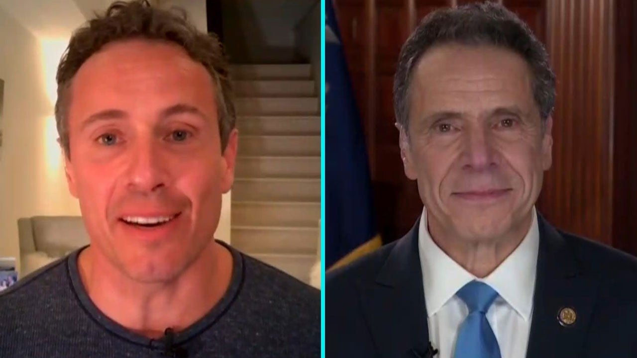 Chris Cuomo Teases Brother Andrew During Interview With Hilarious Throwback Photo