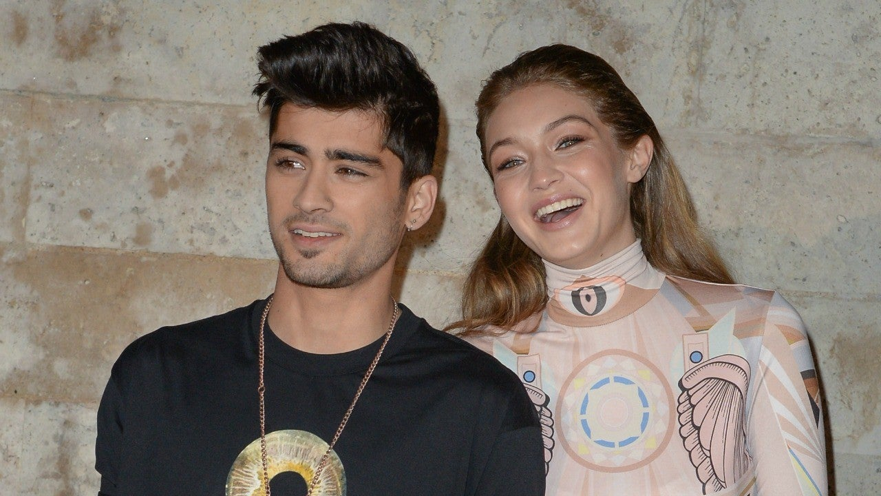Gigi Hadid Shares PDA-Filled Pic With 'Baby Daddy' Zayn Malik