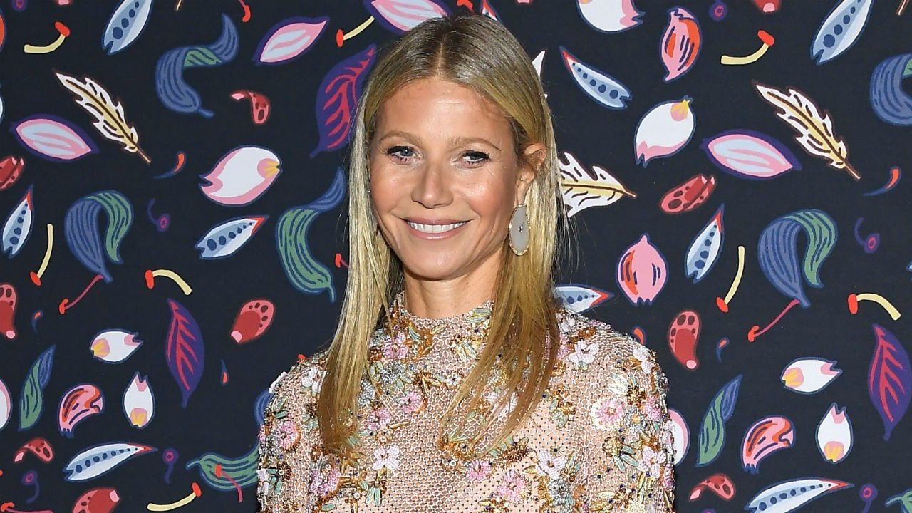 Gwyneth Paltrow Gets 'Moral Support' From Kids Apple and Moses