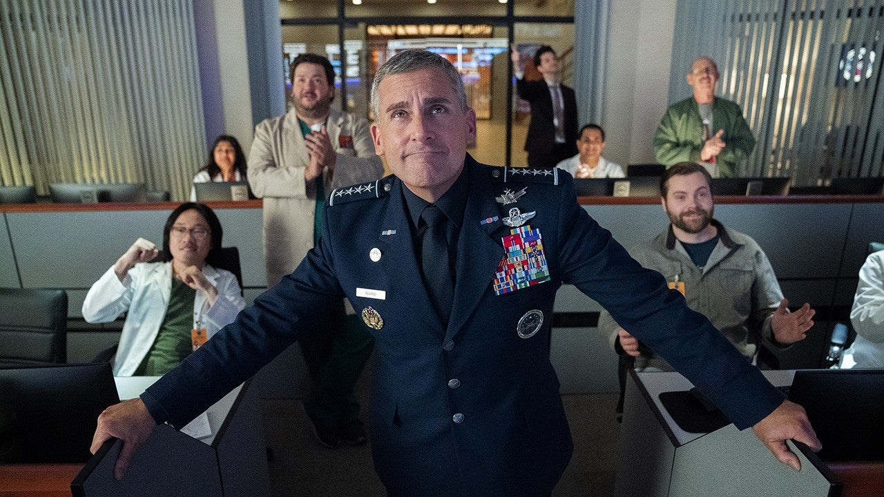 'Space Force' Shares First Look at Steve Carell and Lisa Kudrow