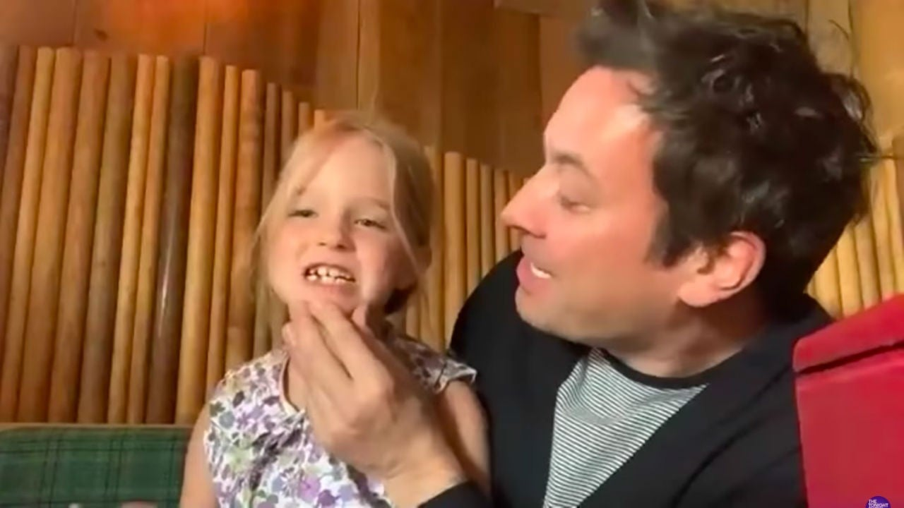 Watch Jimmy Fallon's Daughter Interrupt His Interview With Big News!