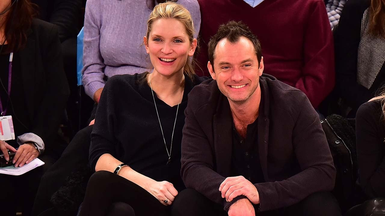 Jude Law And Wife Phillipa Coan Expecting Their First Child Together Entertainment Tonight