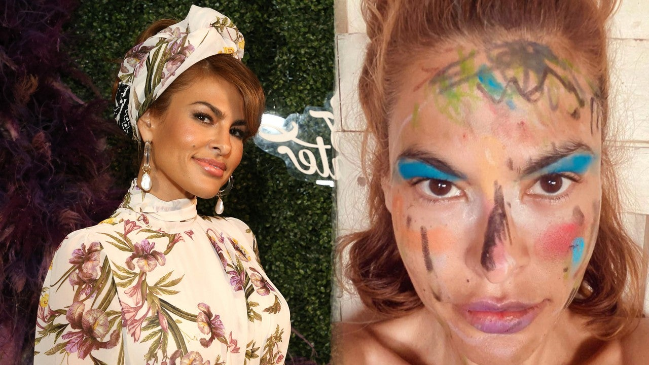 Eva Mendes' Quarantine Makeover From Her Daughters Is a ...