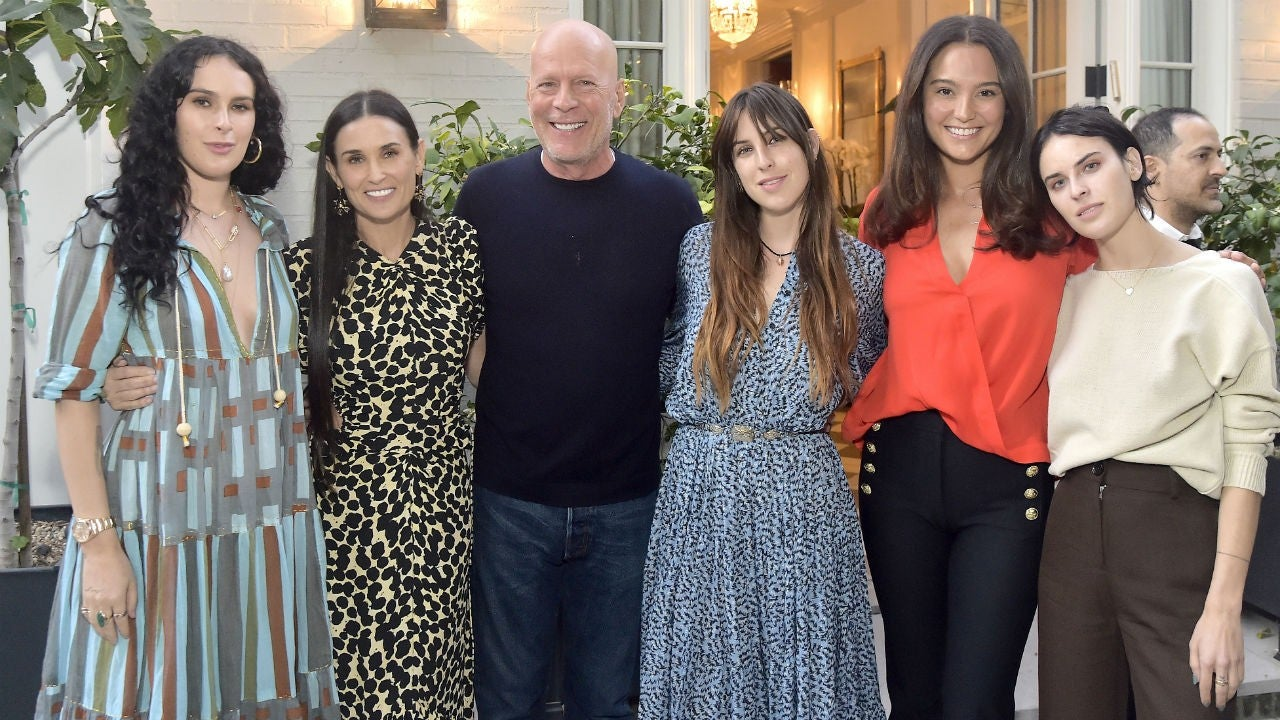 Bruce Willis and Ex Demi Moore Cheer as Rumer Teaches Her ...