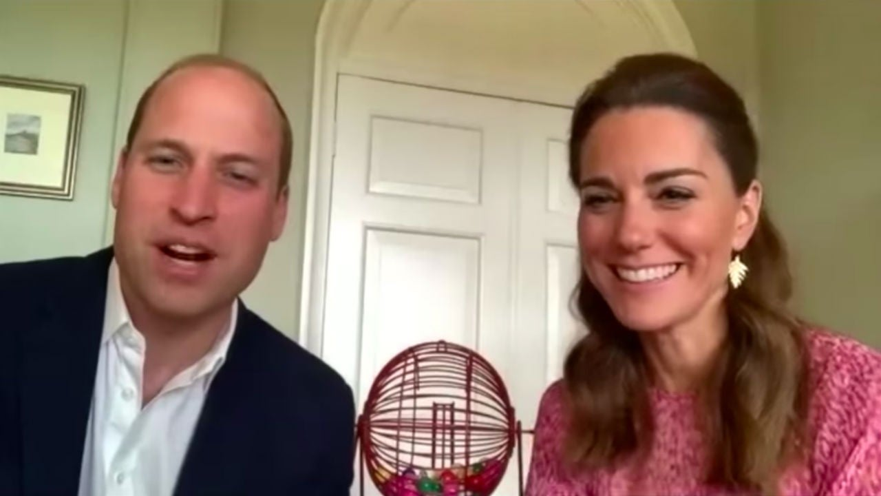 Kate Middleton and Prince William Play Bingo With Nursing Home Residents in the Most Wholesome Video