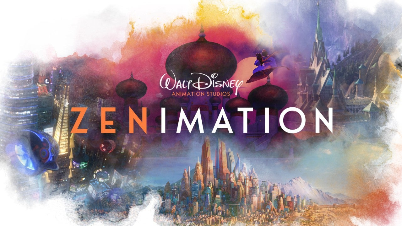 'Zenimation' First Look: Take a Moment of Mindfulness, Disney-Style (Exclusive)
