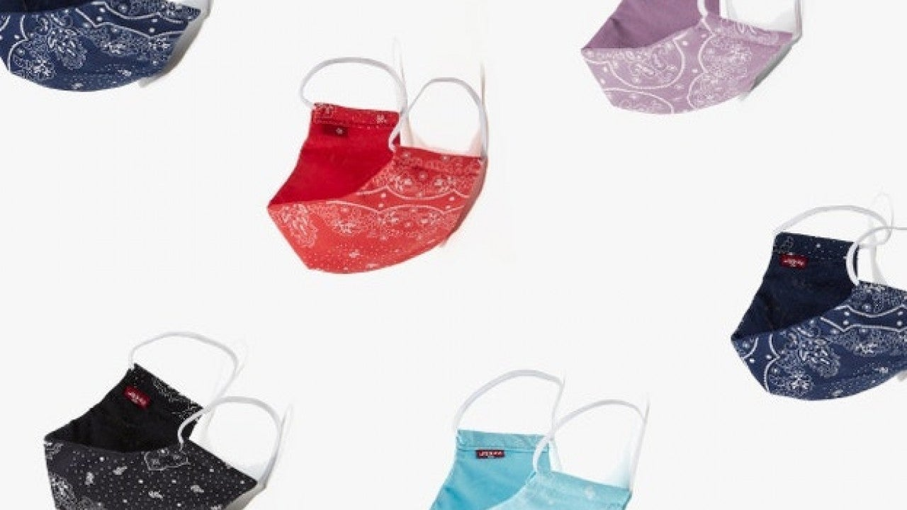 Levi's Released a Line of Face Masks Which Are Reversible and Reusable