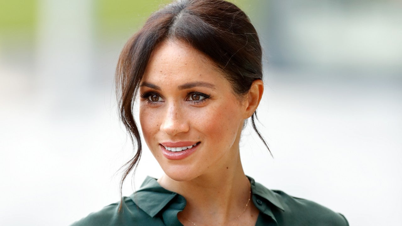 Meghan Markle Was Scolded for Wearing 'M' & 'H' Necklace, Book Claims