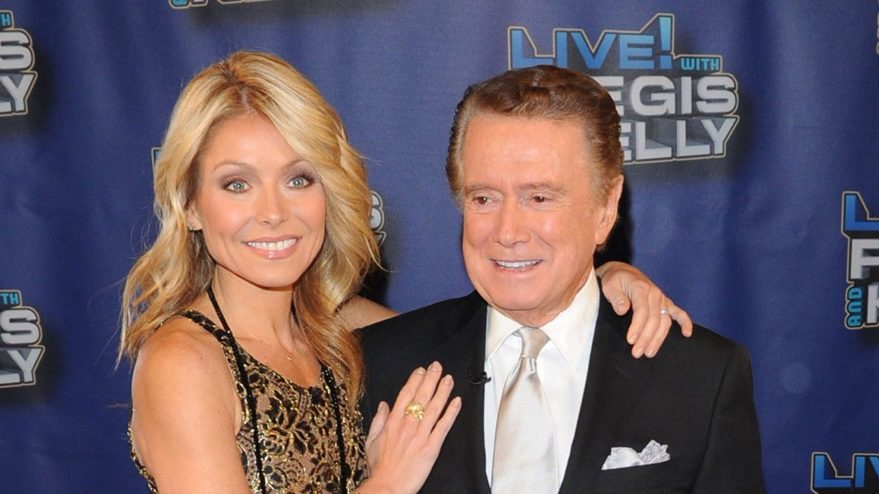 Kelly Ripa Fights Back Tears While Paying Tribute to Regis Philbin