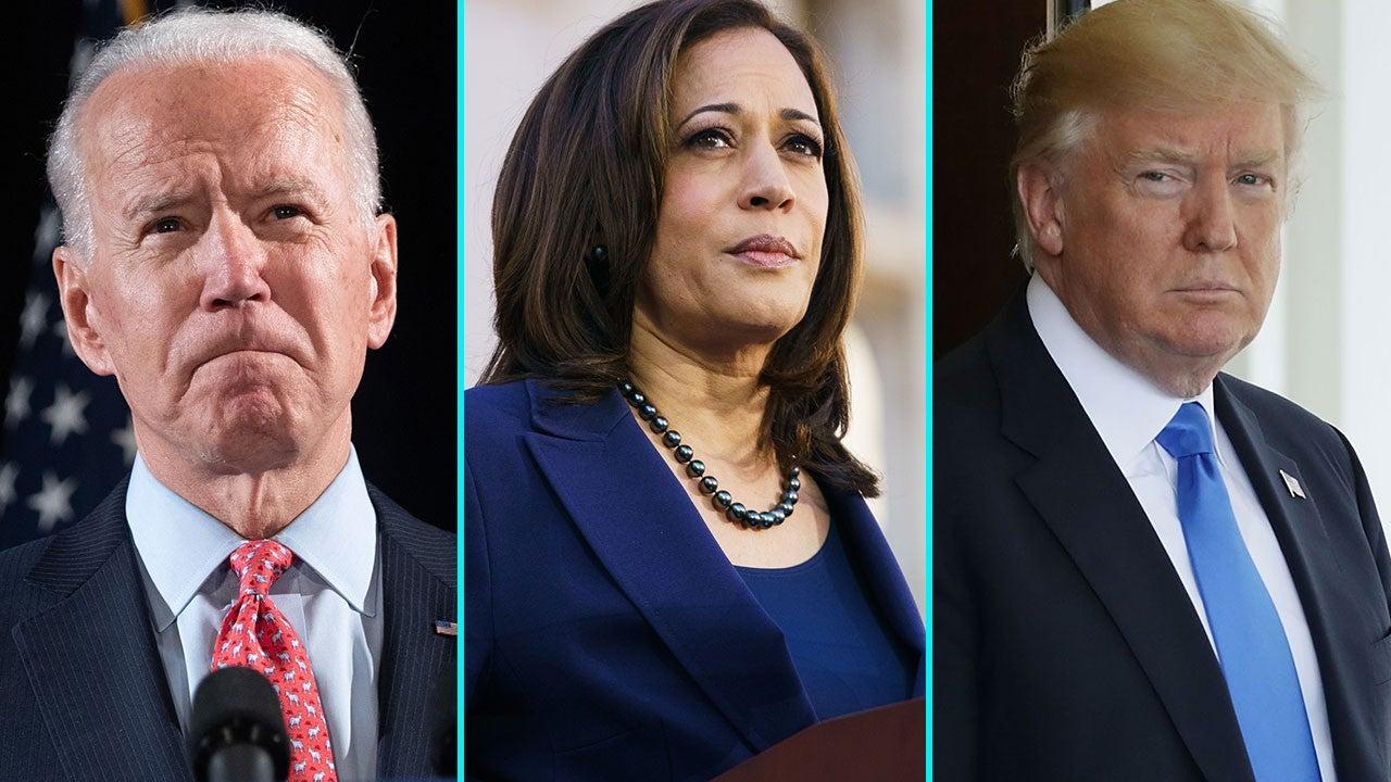 Joe Biden and Kamala Harris Send Condolences to President Donald ...