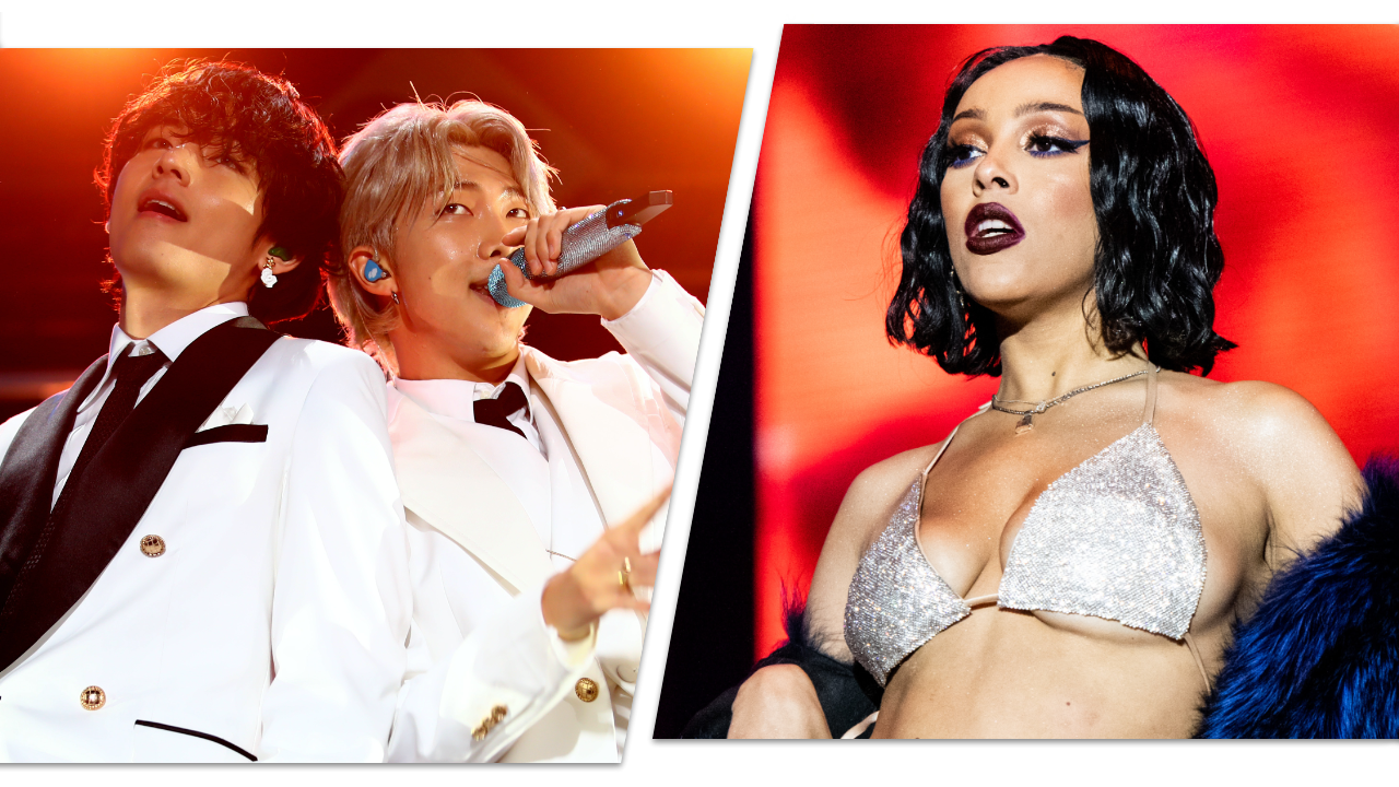 BTS, Doja Cat and J Balvin to Perform at the 2020 MTV VMAs