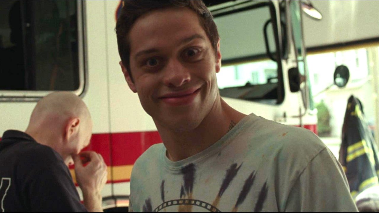 Pete Davidson Cracks Up in 'The King of Staten Island' Gag Reel