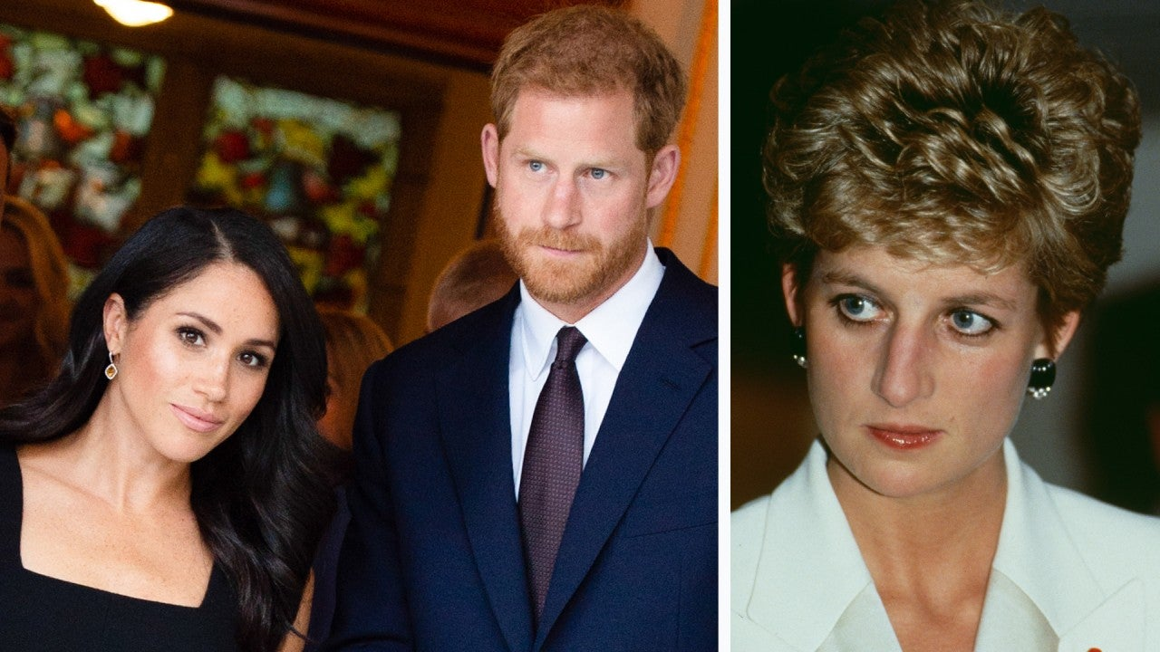 Prince Harry and Meghan Markle Pay Subtle Tribute to Princess Diana With Their Pregnancy Announcement - Entertainment Tonight