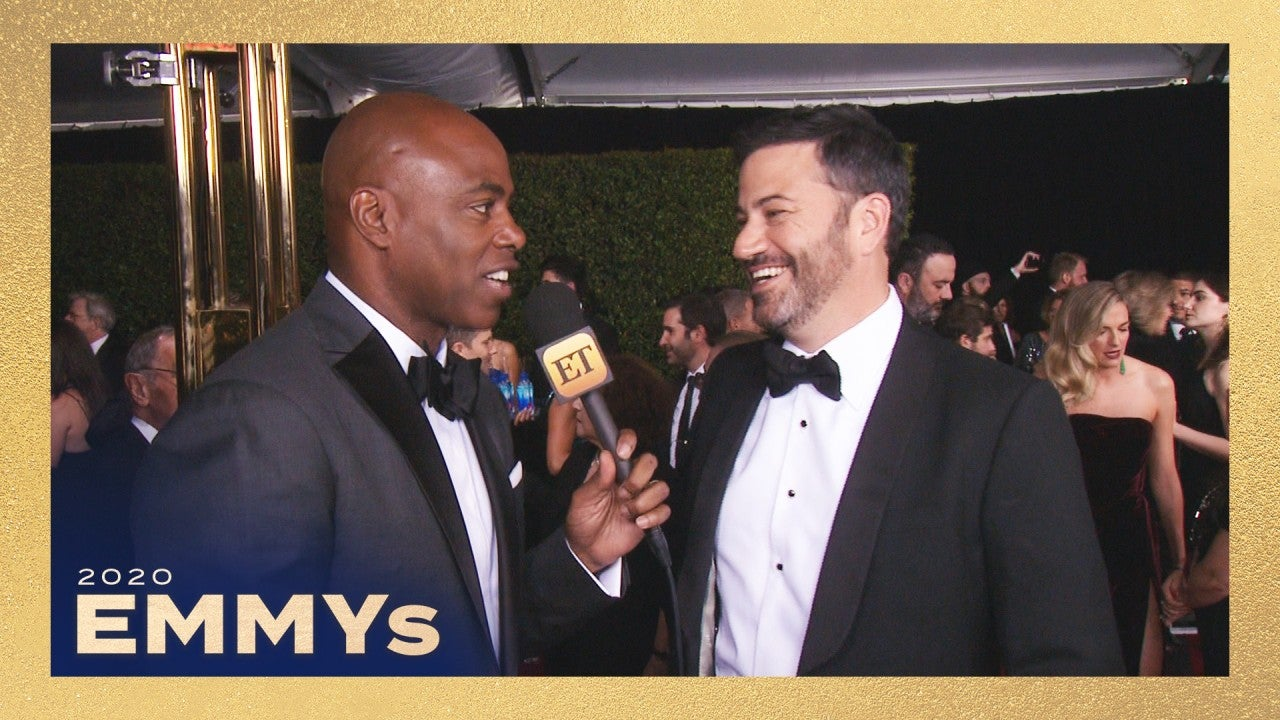 ET's Favorite Moments With Emmys Host Jimmy Kimmel   Emmys ...