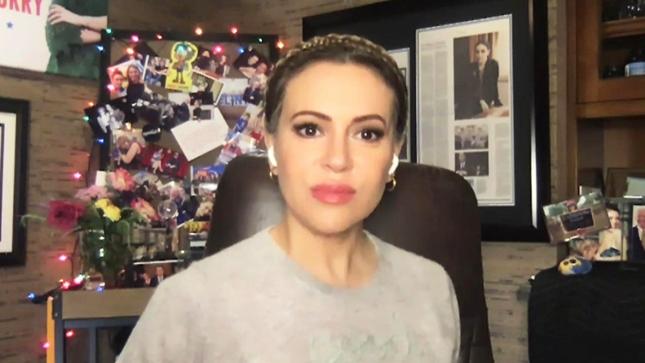 Alyssa Milano Responds to Being Labeled a 'Hypocrite' Online