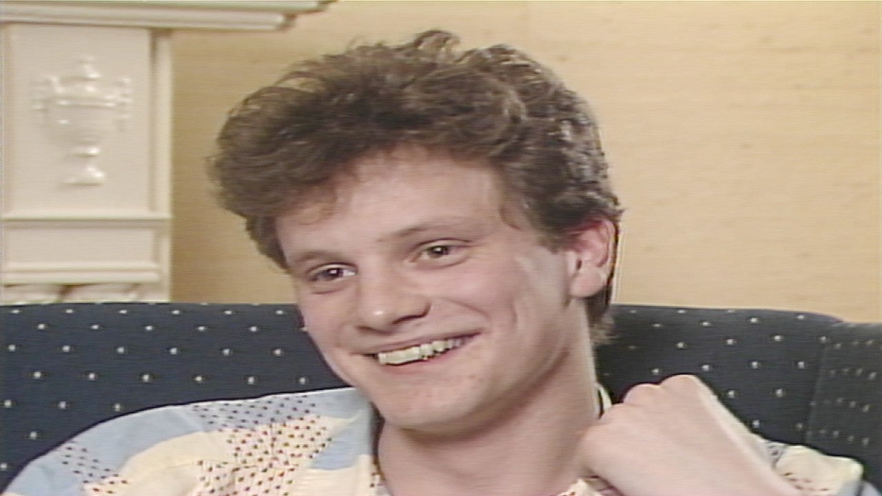 Colin Firth Reveals His Unique Acting Methods In Rare 1984 Interview Flashback Entertainment Tonight