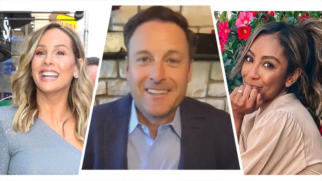 Chris Harrison Talks Clare Crawley & Tayshia Adams Bachelorette Rumors