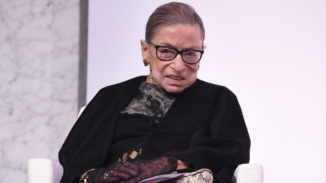 Ruth Bader Ginsburg's Trainer Does Push-Ups in Front of Her Casket