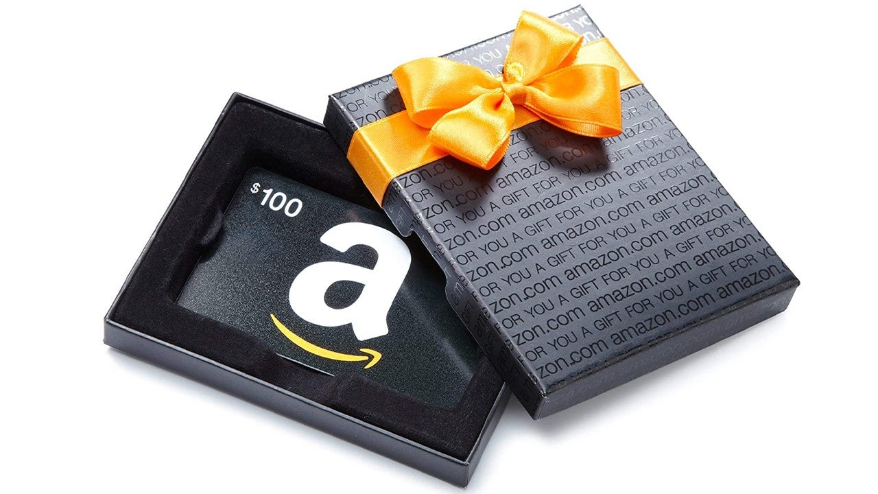 Early Holiday Shoppers Grab An Amazon Gift Card Today Entertainment Tonight