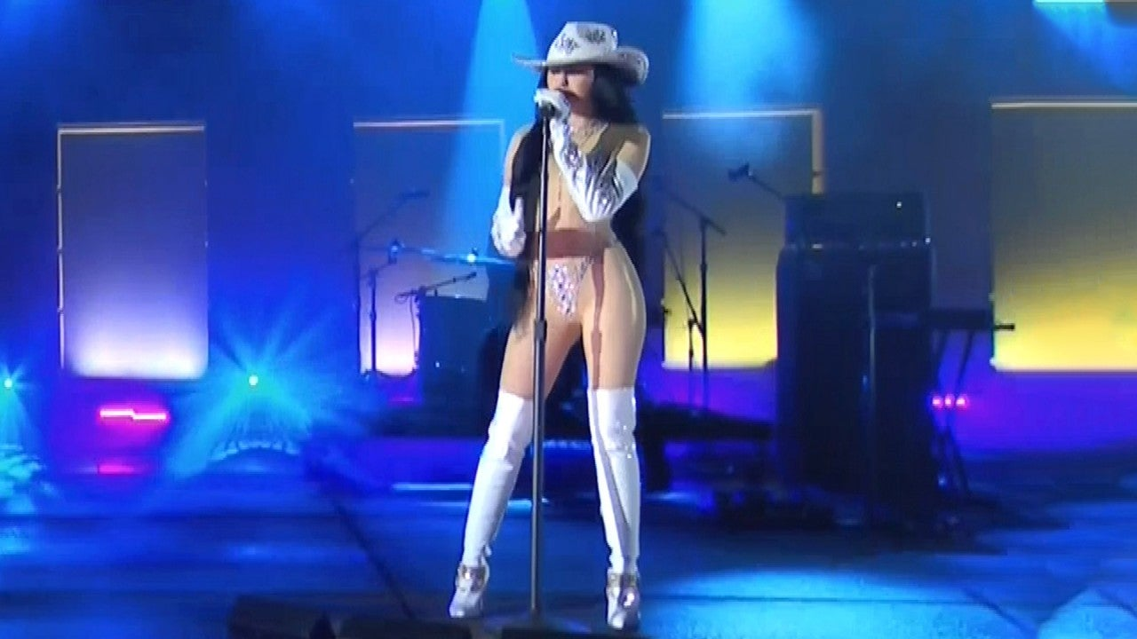 Noah Cyrus Rocks Sexy Bedazzled Bodysuit For 2020 Cmt