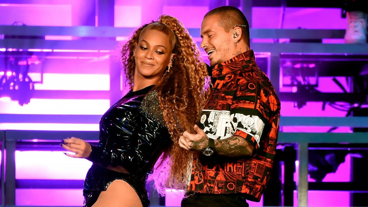 J Balvin on Blue Ivy 'Jamming' to 'Mi Gente' and Working With Beyoncé
