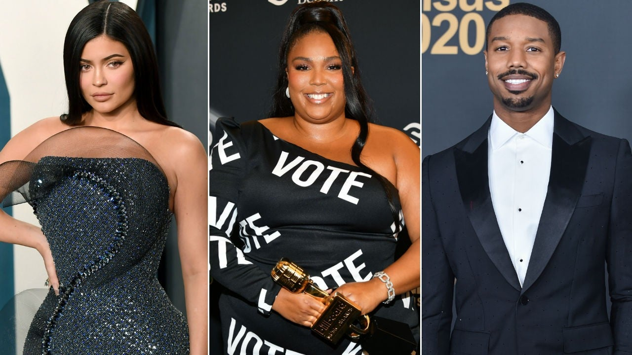 Kylie Jenner, Lizzo, and More Post Thirst Traps to Get Fans to Vote