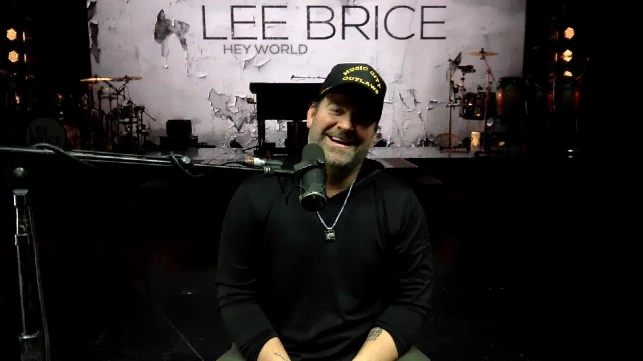 Lee Brice Reacts to Charles Kelley Replacing Him at CMA Awards
