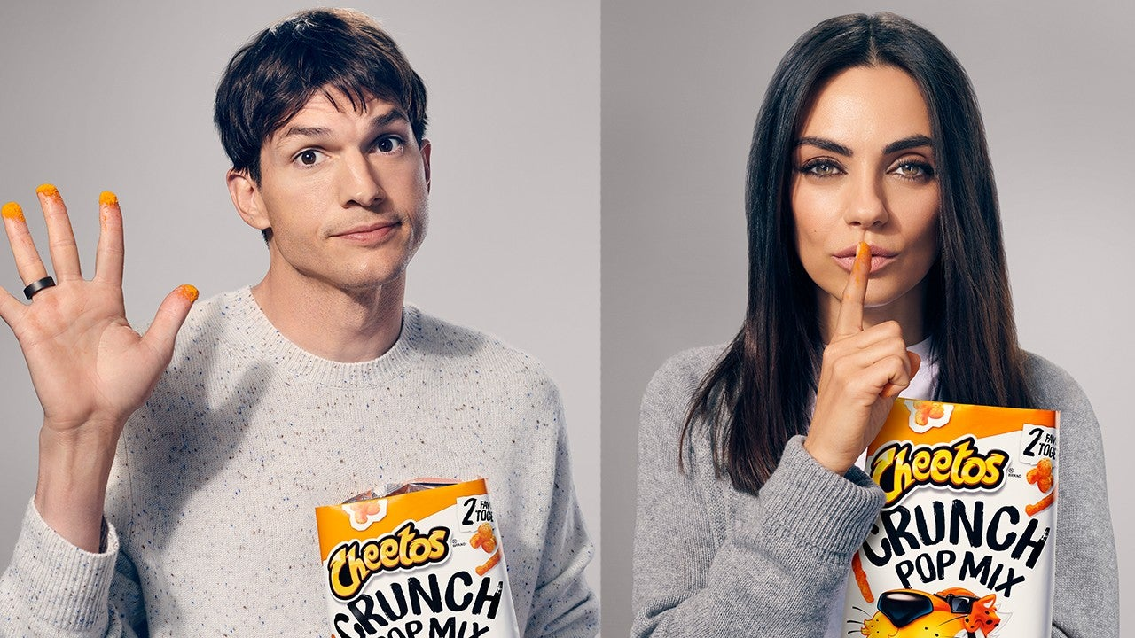 Watch Mila Kunis and Ashton Kutcher's Super Bowl Ad With Shaggy