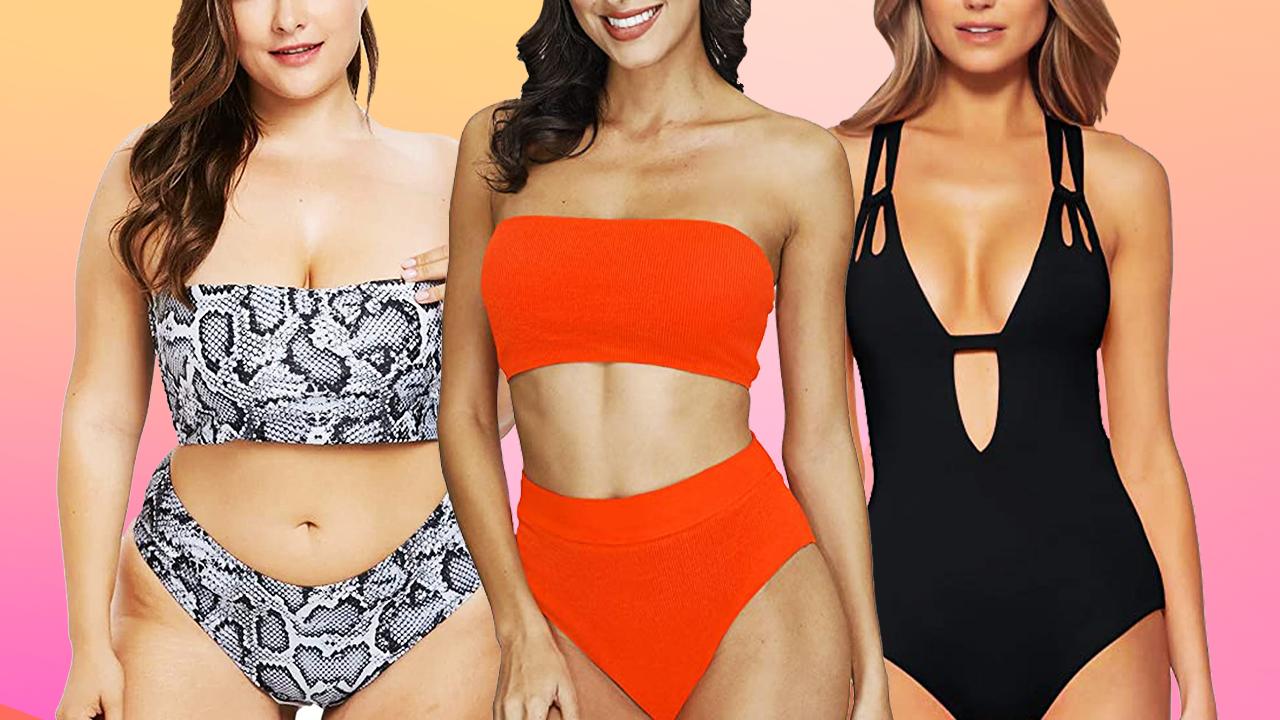 Bathingsuit hero Best Spring Break Swimwear From Amazon 8211 Entertainment Tonight