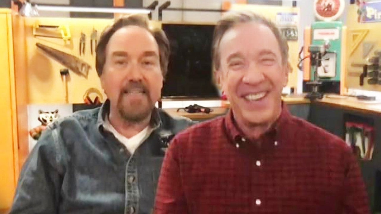 Tim Allen and Richard Karn on What It Was Like to Reunite 22 Years After 'Home Improvement' Finale (Exclusive)