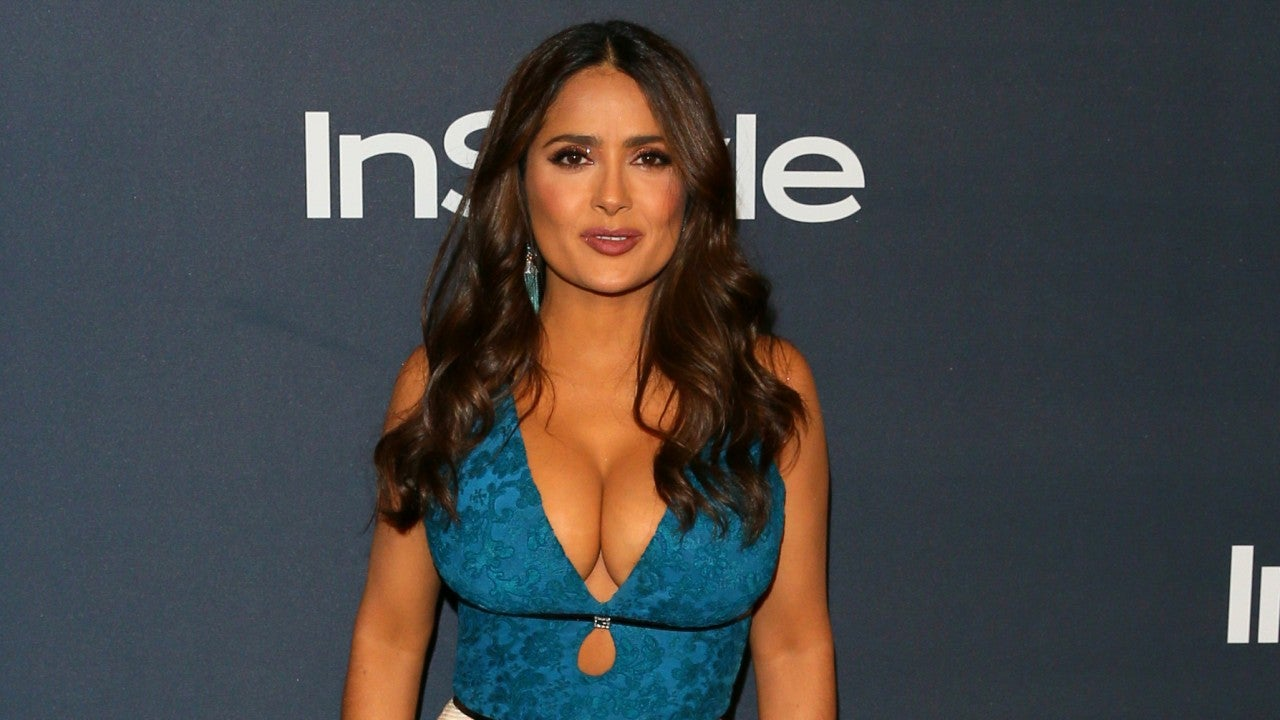 Gettyimages 1192017442 Salma Hayek on Why It 8217 s Liberating for Her to Post Bikini Pics on Instagram Exclusive 8211 Entertainment Tonight