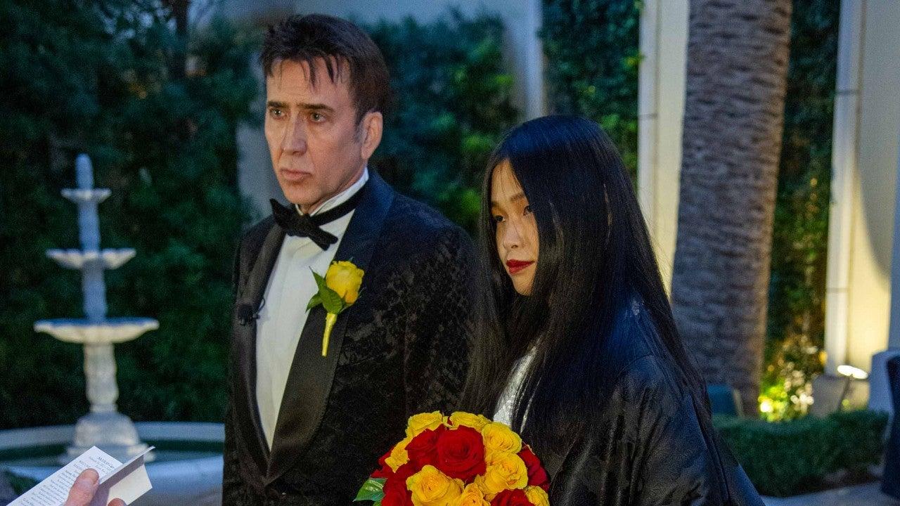 Nicolas Cage Weds Riko Shibata: Inside Their Las Vegas Wedding - Entertainment Tonight
