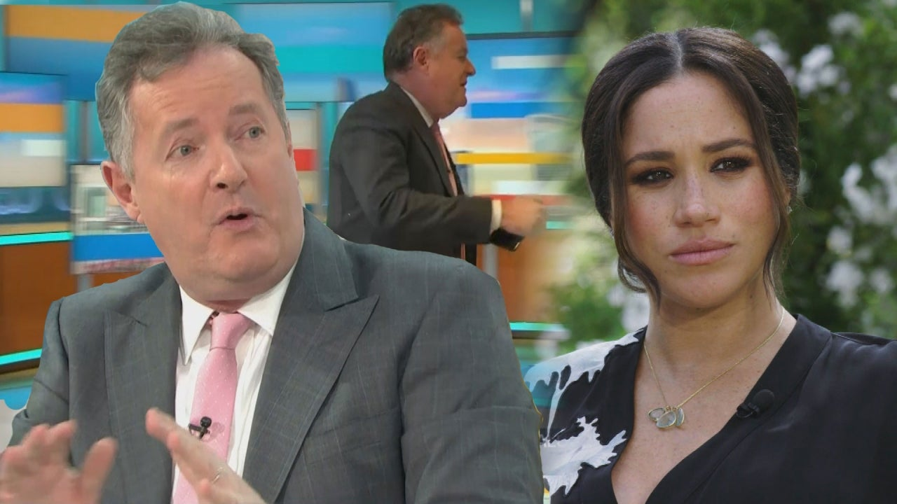Meghan Markle Lodged Formal Complaint About Piers Morgan With ITV - Entertainment Tonight