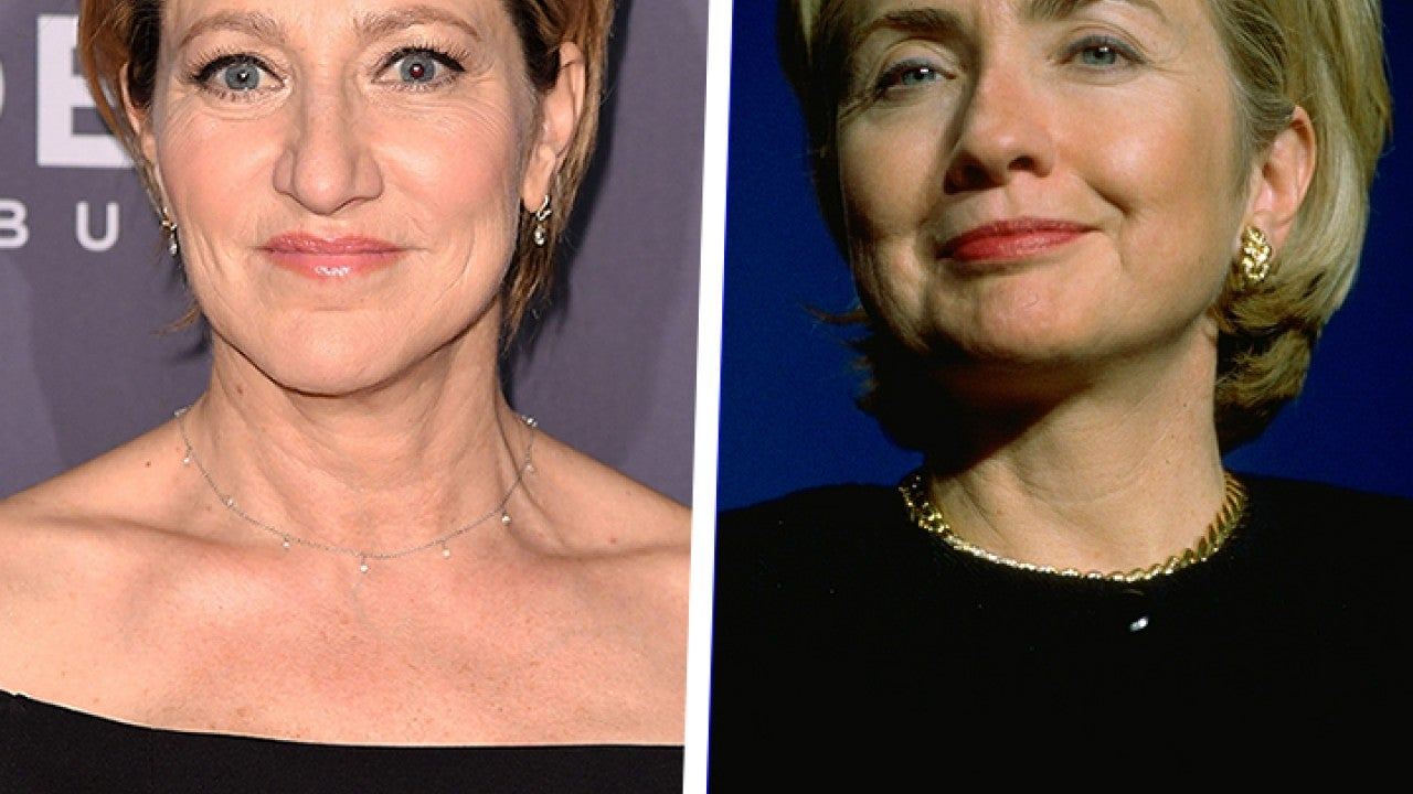See Edie Falco Channel Hillary Clinton on 'American Crime Story' Set