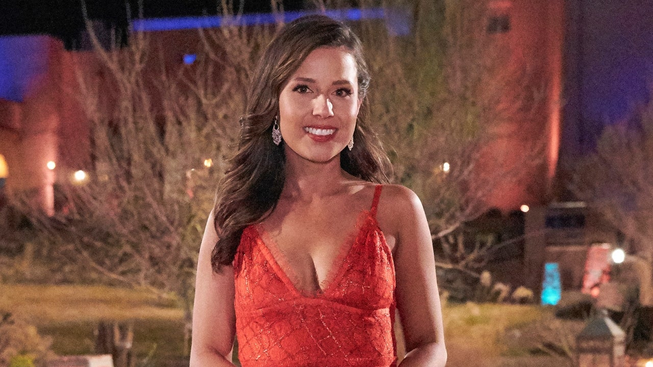 'The Bachelorette' Katie Thurston Shines in Red Gown in First-Look Pics From Night One (Exclusive) - Entertainment Tonight