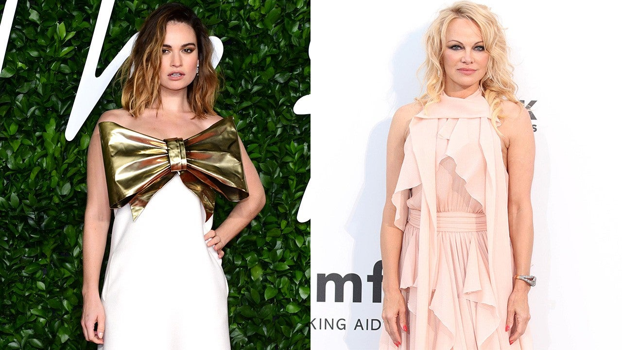 Lily James Nails Pamela Anderson's Iconic 'Baywatch' Look in New Pics