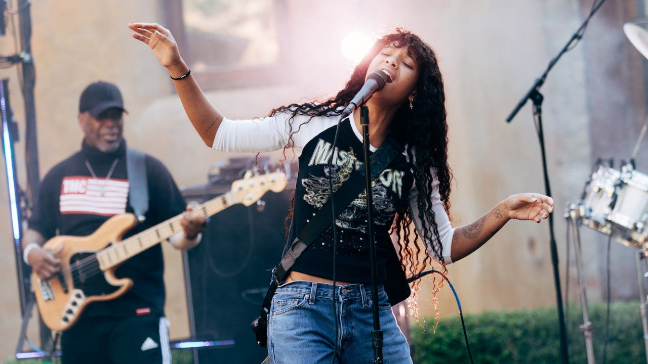 Willow Smith Reunites Mom Jada's Band for Mother's Day Performance