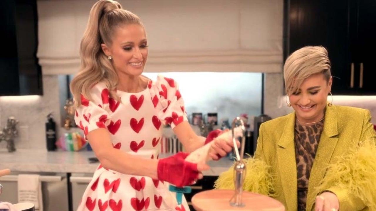 Paris Hilton Invites Demi Lovato on 'Cooking With Paris' But Makes One Big  Mistake (Exclusive)   Entertainment Tonight