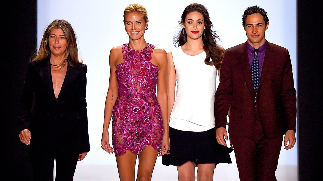photo Heidi Klum: Project Runway Star Walks Victoria's Secret Fashion Show 6 Weeks AfterBaby