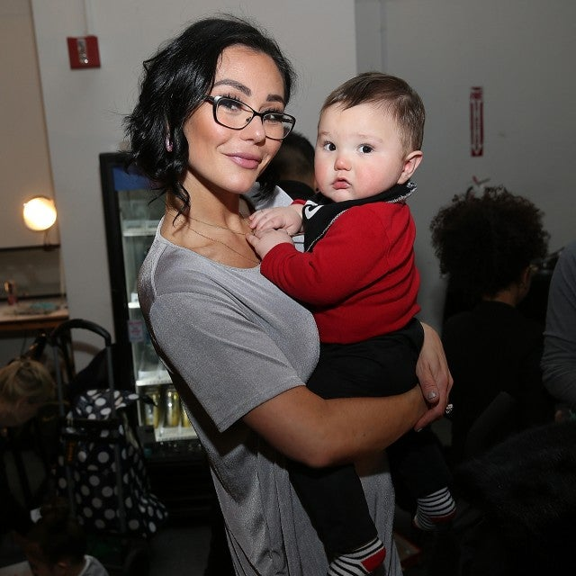 JWoww and son Greyson