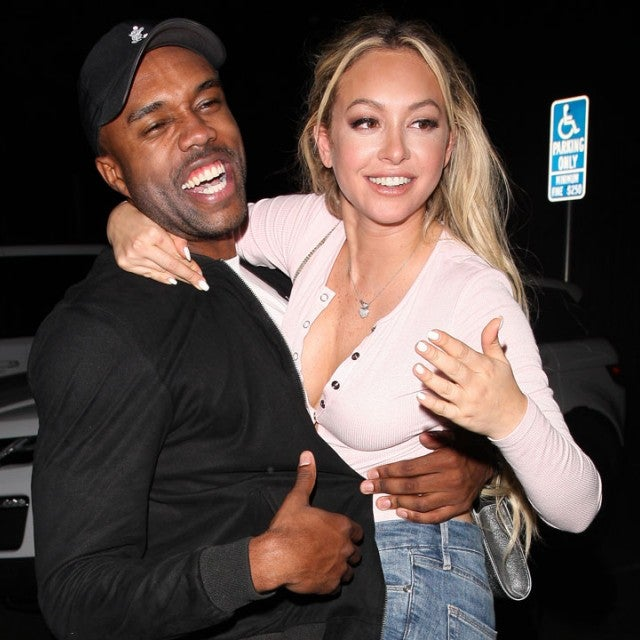 Corinne Olympios and DeMario Jackson in Hollywood