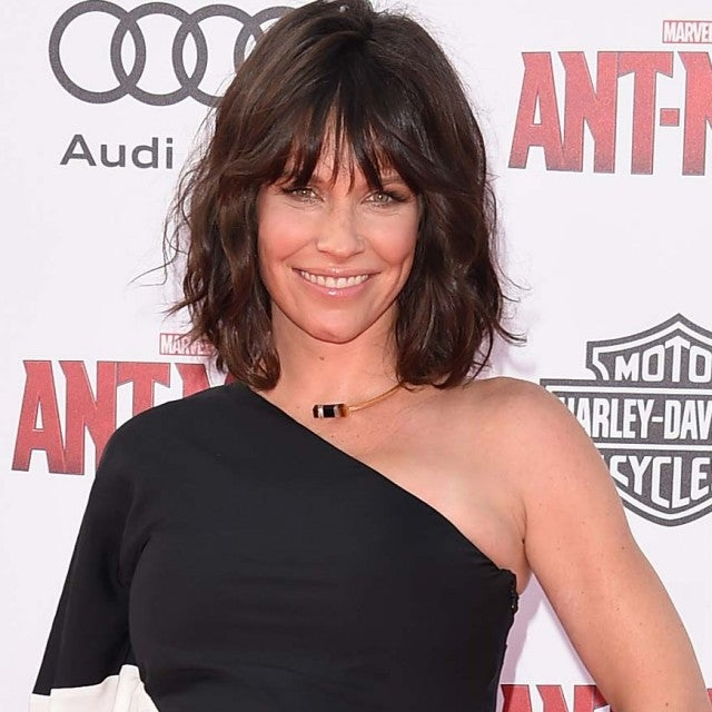 Evangeline Lilly at the Ant-Man premiere